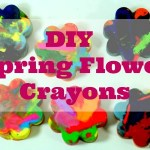 DIY Flower Crayons & Spring Printable