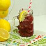 Lazy Lemon Cherry Slush