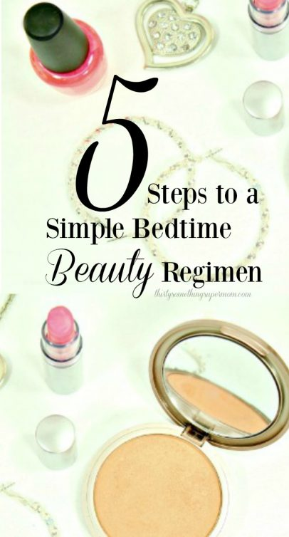 Simple Bedtime Beauty Regimen