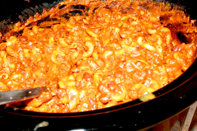 Chilli Mac in a Crock Pot