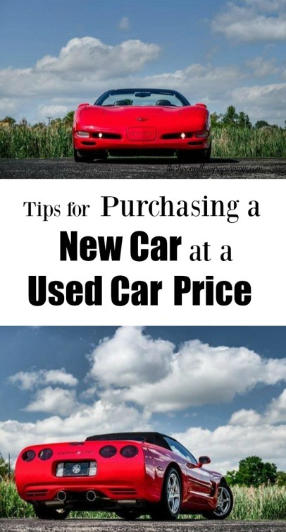 New Car at a Used Car Price
