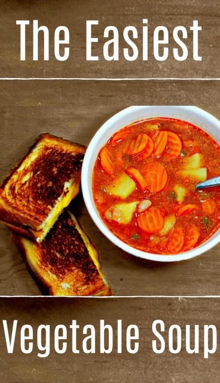 Easiest Vegetable Soup