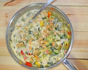 SCD Chicken Zucchini Alfredo