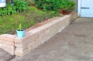 How to Build a Retaining Wall the Right way with this DIY Project for Homeowners