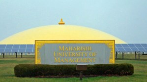 Maharishi Patanjali Golden Dome of Pure Knowledge in Fairfield, Iowa