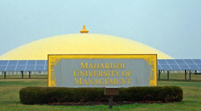 Maharishi Patanjali Golden Dome of Pure Knowledge in Fairfield, Iowa