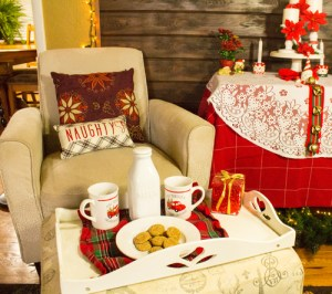 Simple Solutions to Create Cozy Christmas Seating