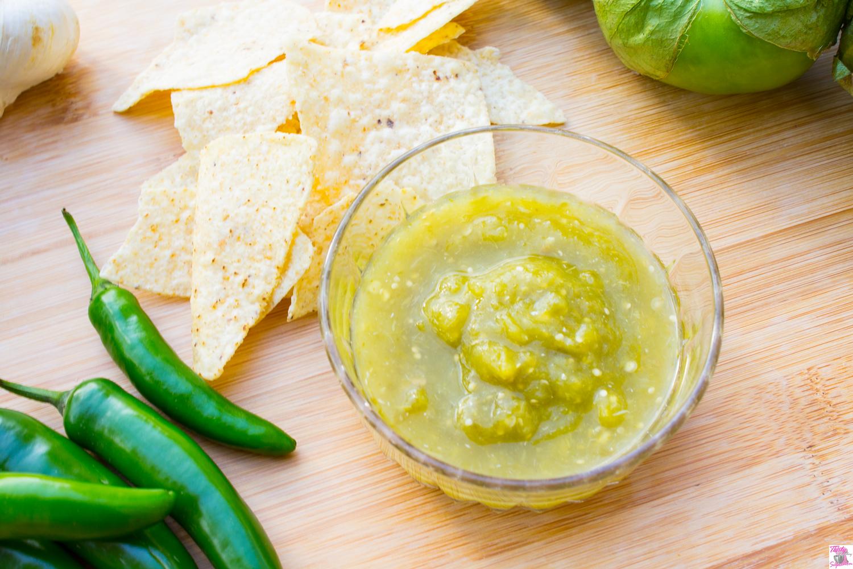 16 Year Salsa Verde Recipe (Tomatillo Salsa)