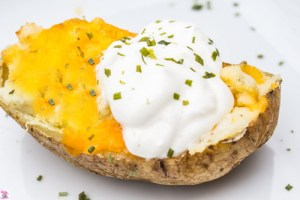 Twice Baked Potatoes Air Fryer Recipe