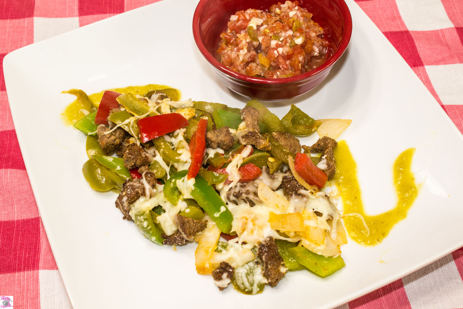 Easy Cheesy Low Carb Fajitas