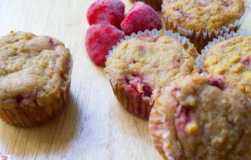 Quick & Easy SCD Strawberry Muffins