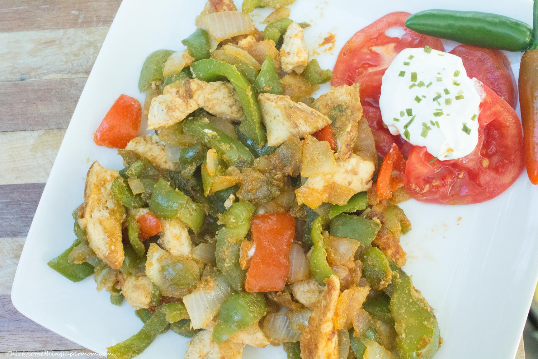 Quick & Easy Chicken Fajitas