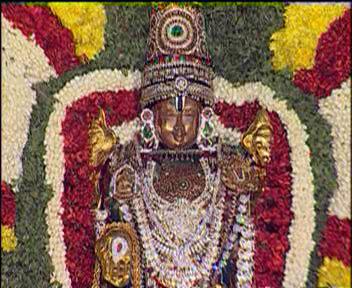 Picture B - The idol of Sri Srinivasa Perumal used by TTD to conduct Srinivasa Thirukalyanam in various parts of India