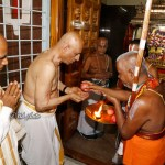 AP Governor Welcomed with 'Isthikapal' at Tirupati