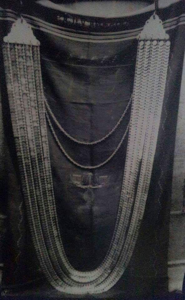 pure gold lace that is worn by Lord Venkateshwara.