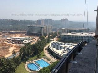 Panorama from top: Infosys Campus