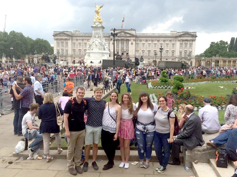 Group at Buckingham