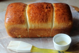 Naturally Leavened Honey Milk Bread