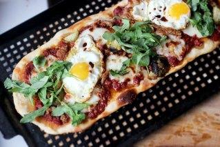 Sourdough Flatbread Pizza