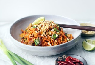 Whole30/Paleo Chicken Pad Thai