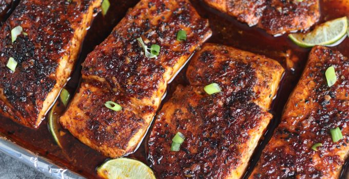 How to make Korean Gochugaru Salmon Whole30/Paleo