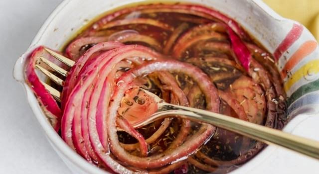 Marinated Onions (Whole30/Paleo)