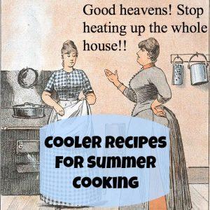 summer cooking button