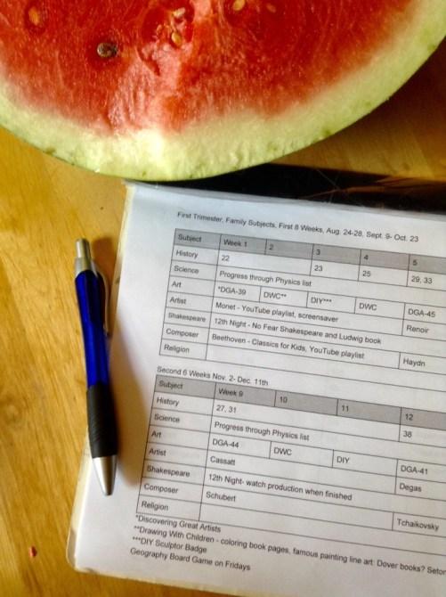 15-16 homeschool dates