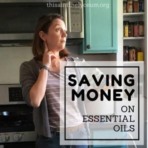 DIY essential oil