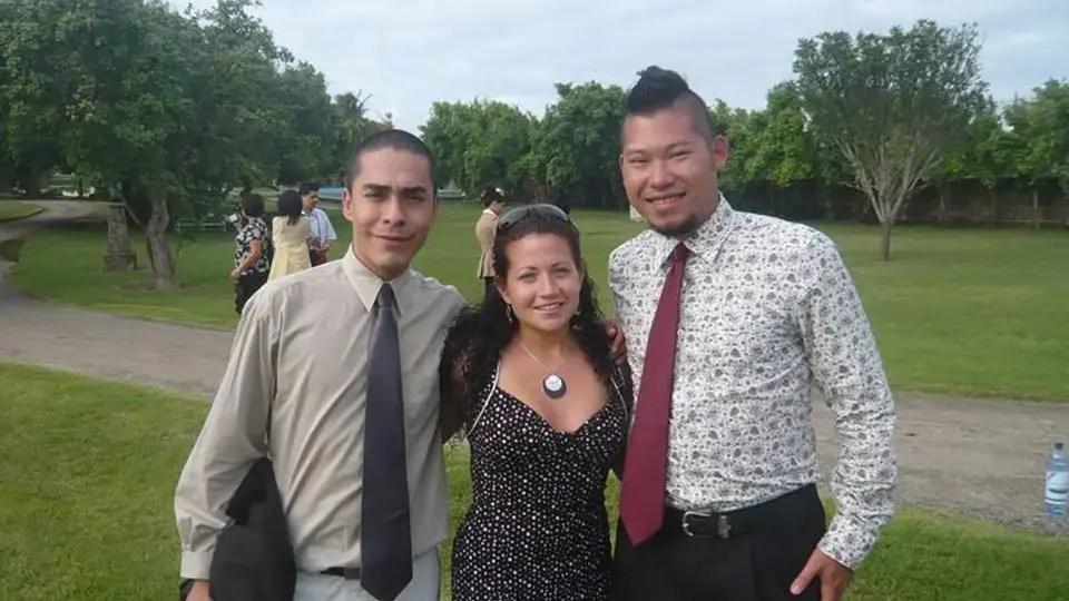 Carlos, Venassa, Jason in Cuba