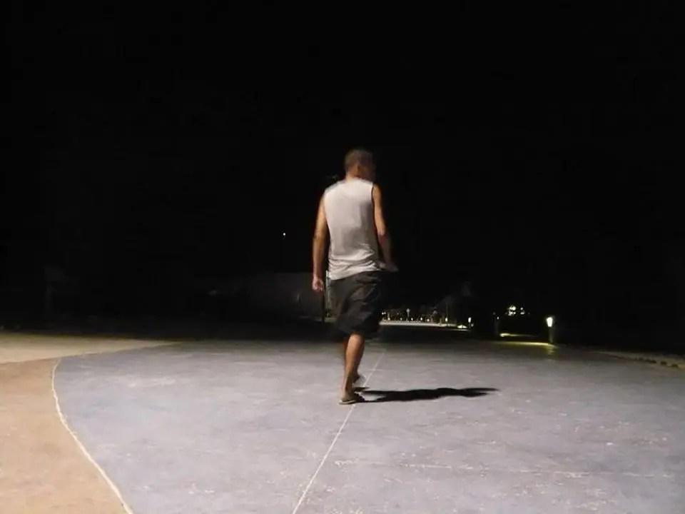 Majahua at night