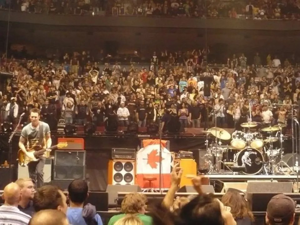 Pearl Jam in Vancouver