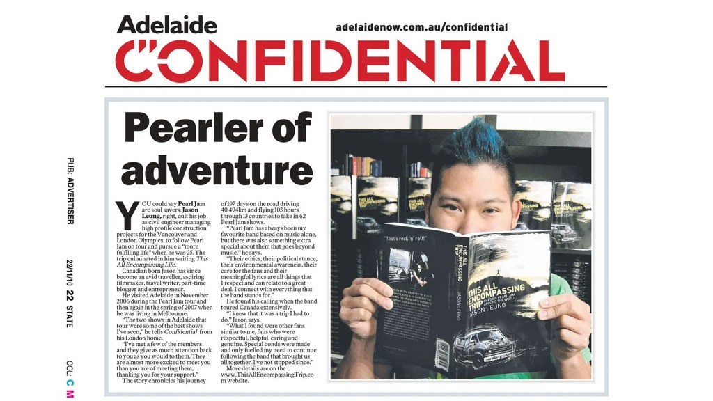 Adelaide Confiential Headline Feature