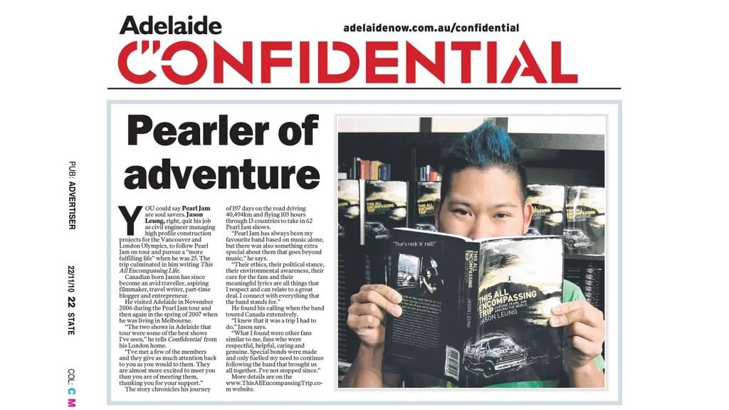 Adelaide Confiential Headline Feature