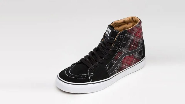 Pearl Jam shoes from Vans