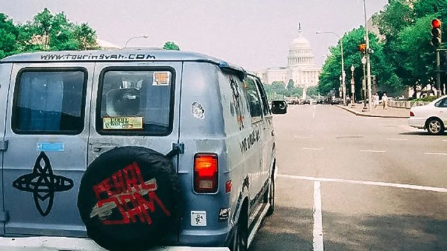 Pearl Jam Touring Van in DC
