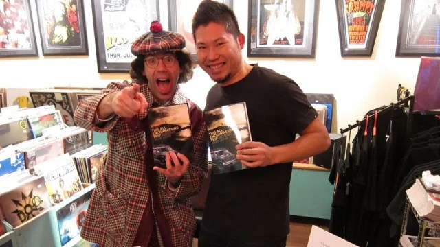 Nardwaur with Jason Leung for his Vancouver Book Signing at Neptoon Records