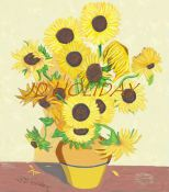Not Van Gogh's Sunflowers, JUST JD'S! Copyright by JD Holiday 2009