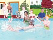 Swimming Party by JD Holiday  ©2010