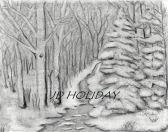 Winter sketch by JD Holiday