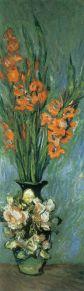 """Claude Monet, """"Gladioli,"""" [1882-85]."""