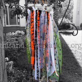 Haunted Halloween Wind Catcher $45