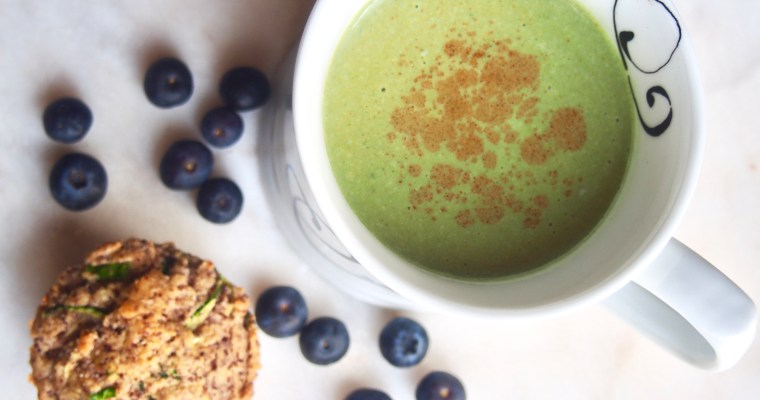 Super-Power Matcha Latte