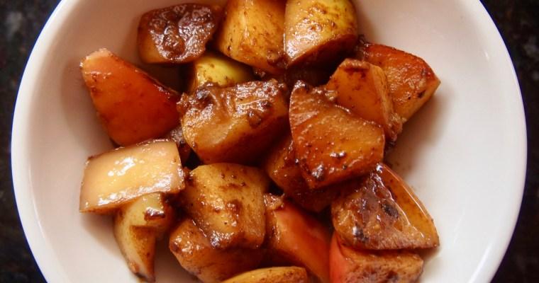 Vegan Sugar-Free Stewed Apples