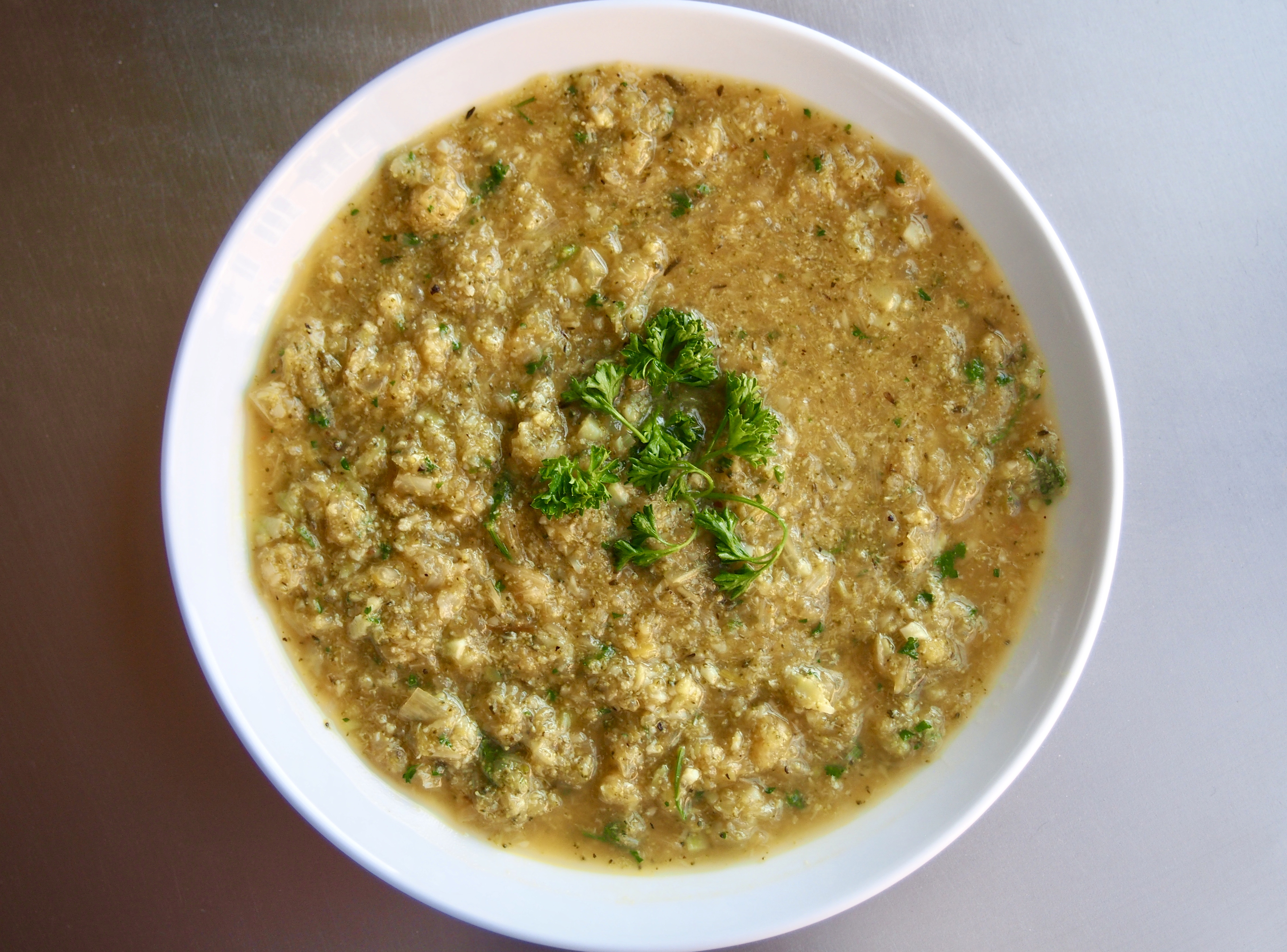 Clean Green Soup: A vegan cancer fighting machine