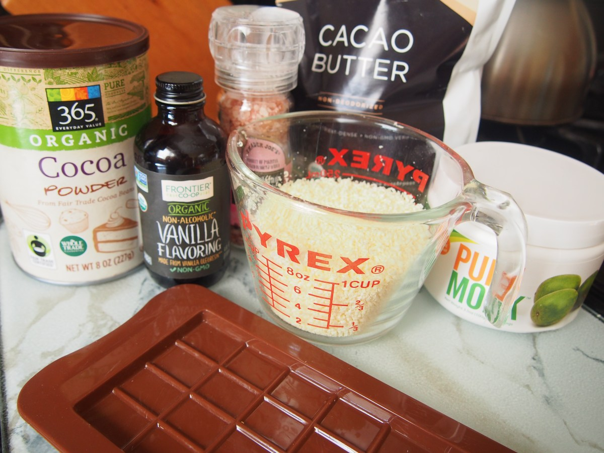 Sugar-Free Paleo Dark Chocolate