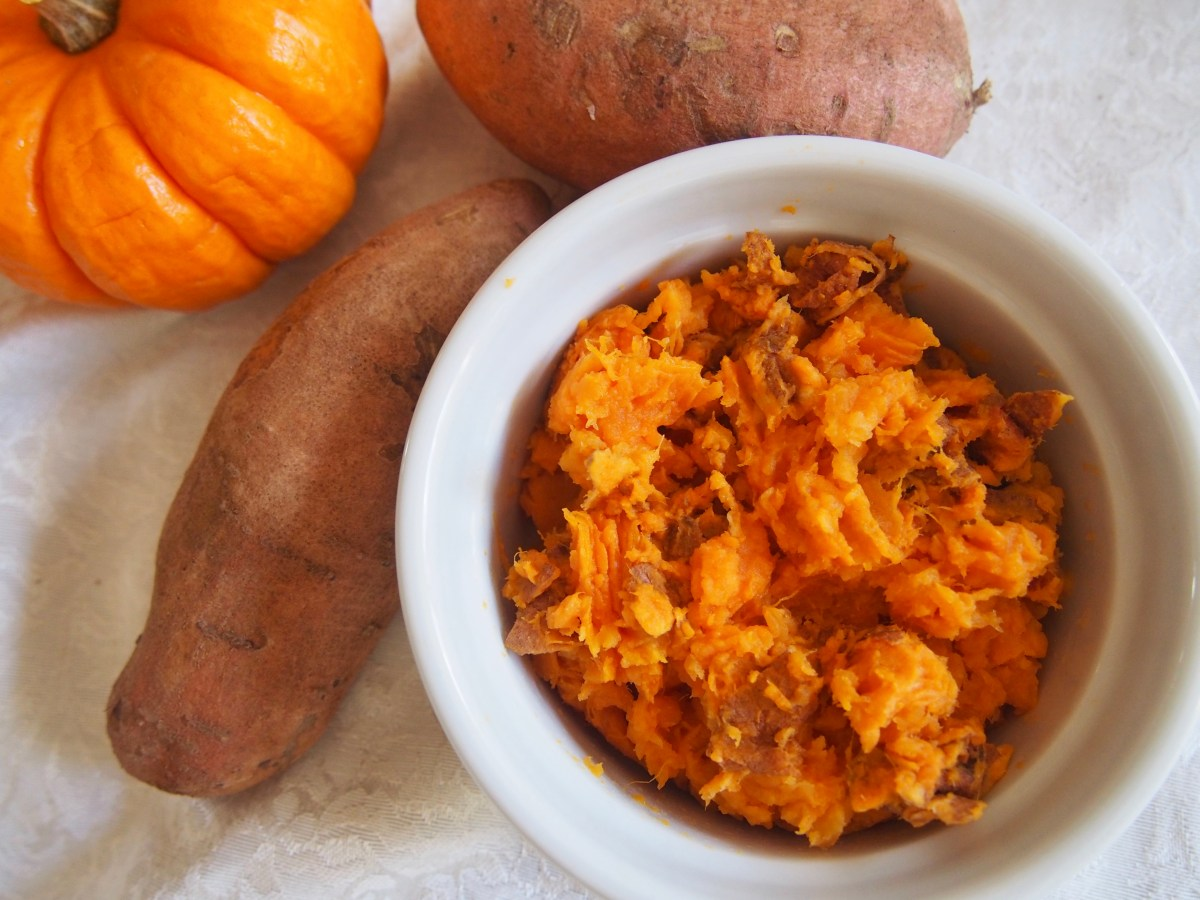 sweet potato mash gluten-free grain-free paleo breakfast