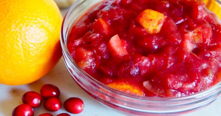 Sugar-Free Fresh Cranberry Sauce