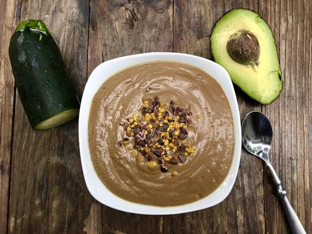 Dark Chocolate Avocado Smoothie – Vegan Sugar-Free Recipe