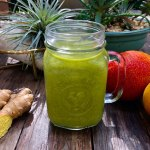 ginger kale mango smoothie recipe